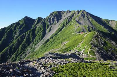 電車とバスで行く南アルプス白峰三山縦走登山(広河原から奈良田、1泊2日)