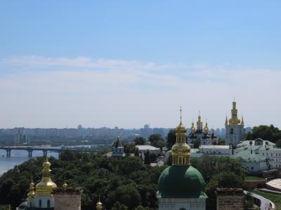 キエフで美しき教会三昧