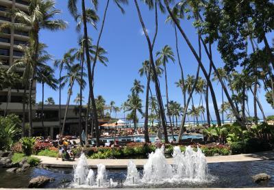 初めてのハワイ 三世代旅行 1日目