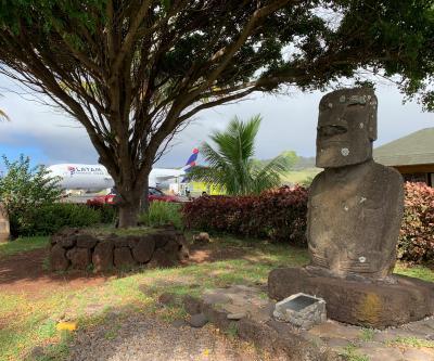 2019 サンチアゴ→イースター島→サンチアゴ→・・・ その6~さよーなら、モアイ達