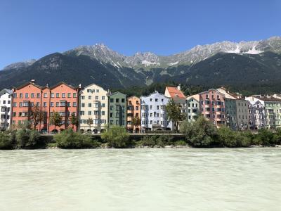 オーストリア:インスブルック街歩き後半、ザルツブルグへ移動(2)