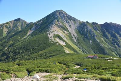 2泊3日北アルプス最深部山歩き【新穂高から双六ベースで双六岳・三俣蓮華岳・鷲羽岳】