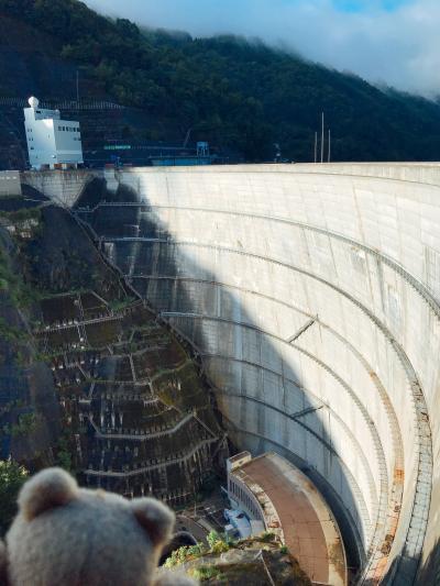 奈川渡ダム(ながわどダム)長野県、ダムめぐり