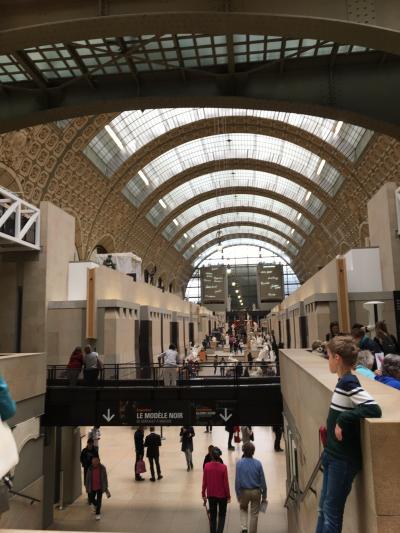 娘と行く30年ぶりのパリは優しい街になっていた(1日目)ヘロヘロでオルセー美術館