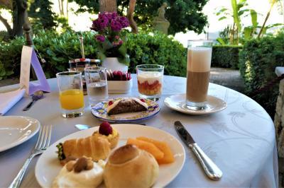 魅惑のシチリア×プーリア♪ Vol.275 ☆パレルモ:宮殿ホテル 最後の優雅な朝食♪