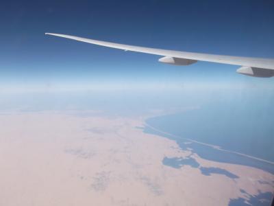 キプロスとギリシャ12日間の旅① エミレーツで飛ぶキプロス