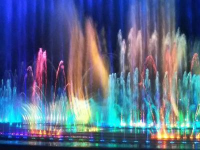189回目訪韓(2019/8/22木~25日)②/⑭多大浦で噴水ショー鑑賞