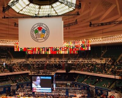 日本武道館で開催中、世界柔道選手権を観戦!