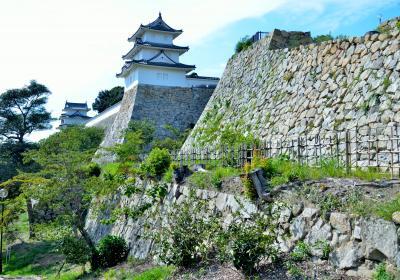 赤穂城と明石城