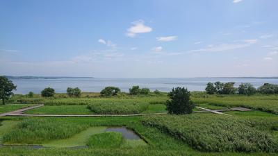 日本第2位の大きさの湖 「霞ヶ浦」茨城県 土浦市
