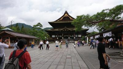8月に善光寺に行って来ました。