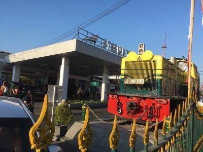 ジャカルタ島 列車の旅(ジョクジャカルタ)