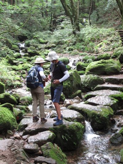 ⑦御岳山「ロックガーデン」ハイキング