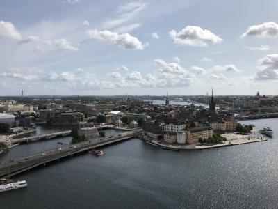 夏は涼しい北欧へ② ストックホルム(前編)夜のガムラスタン、市庁舎、王宮、ノーベル博物館