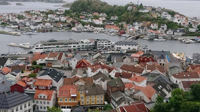 ノルウェー kragero街あるき ②~ムンクの愛した風景