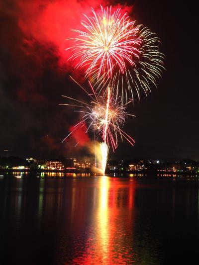 富士五湖の夏祭りを締めくくる、2019「河口湖湖上祭」☆湖上に映るスターマインに酔いしれる!2019夏旅①