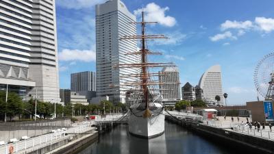 2018年東北遠征1日目(2018/8/23) 帆船日本丸と東京乗り歩きの旅