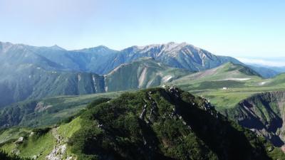 薬師岳から立山縦走2 五色ヶ原から立山へ