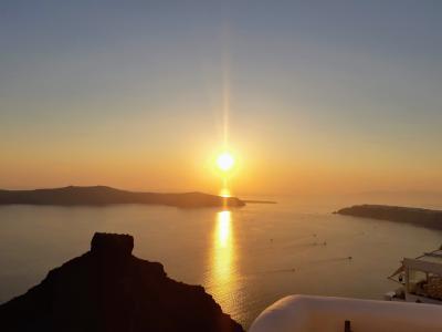 のんびりサントリーニ島~ミコノス島~アテネ③(サントリーニ島~ミコノス)