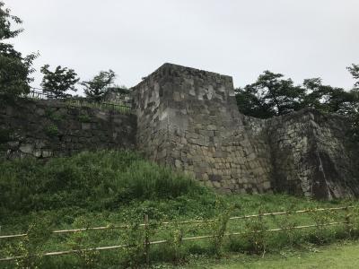 福島県の城跡巡り:小峰城跡