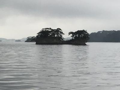 日本三景松島巡り:観光船に乗り、美しいが一度見れば十分かな