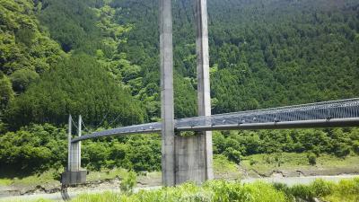 大井川、八橋小道ウォーキング