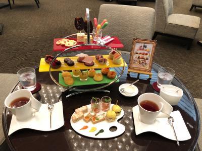 リッツカールトン東京のミシュランフレンチのアジュール45☆グラハイ鮨、ANAインターコンチ&シェラトン都ホテルのハロウィンアフタヌーンティー