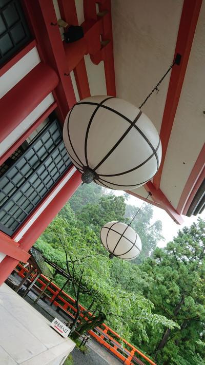 夏の京都満喫(^^)鞍馬寺~由岐神社~祇園祭