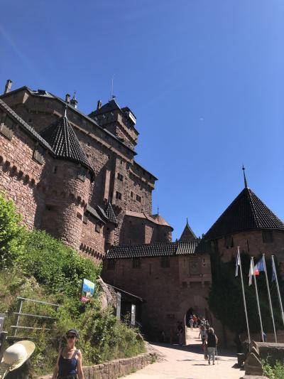 フランスの美しい街を訪ねる旅[古城オークスニブールと最終日再びストラスブール]
