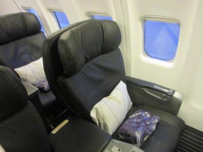 マレーシア航空ビジネスクラス プノンペンからクアラルンプール