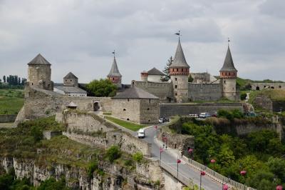 ウクライナ旅行ー5:カーミャネツ(地の果ての城塞)