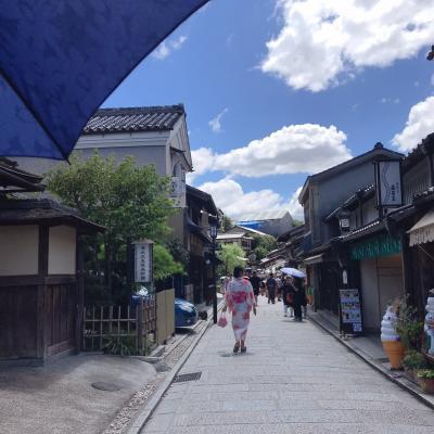 次女とふたり旅。夏の京都は暑かった!