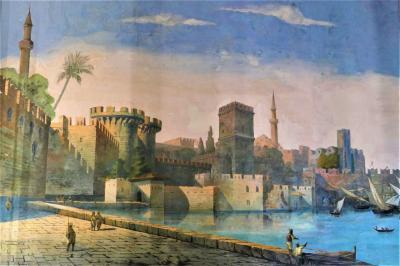 魅惑のシチリア×プーリア♪ Vol.313 ☆ドンナフガータ城:優雅な宮殿生活 地中海沿岸の町並み風景♪