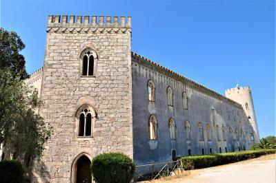 魅惑のシチリア×プーリア♪ Vol.318 ☆ドンナフガータ城:庭園から素晴らしい古城の景観♪