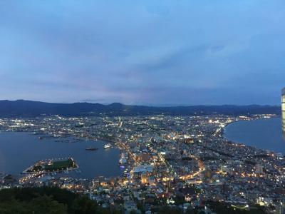 函館と札幌二泊三日