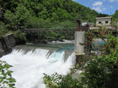 2019年6月11日:ダムカード収集-40 静岡オクシズ編(中編) 自転車で27km ようやくたどり着いた田代ダムの周辺散策