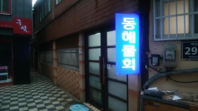 日本も雨、釜山も雨、いつもの事務処理的釜山1泊2日