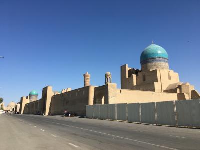 2019 夏 ウズベキスタンの旅④ ブハラへ快適移動と世界遺産観光の巻