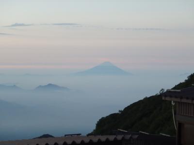 今年の夏山★赤岳★お泊まりは赤岳展望荘