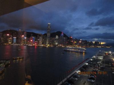 香港の旅 その① 100万ドルの夜景を楽しむ
