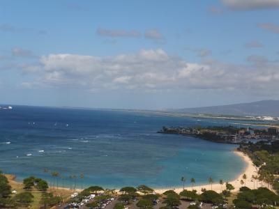 2019/8/23~27 ハワイで過ごす夏休み(前編)お気に入りのイタリアンを食し、アラモアナビーチでまったりする