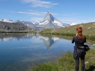 スイス・ツェルマットを拠点にトレッキングざんまいの旅♪①出発~ジュネーブ到着