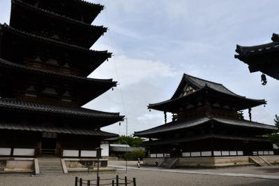 世界遺産、国宝の法隆寺様