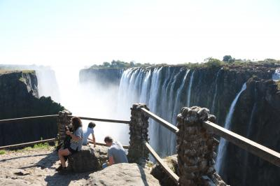 南部アフリカ旅行13 -ビクトリア滝(ザンビア側)-