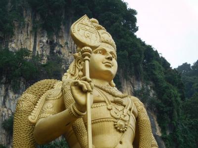 はじめてのマレーシア旅行 その3 バトゥ洞窟~クアラルンプール観光