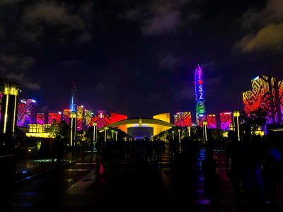 2019夏 香港~深圳~広州~マカオ 周遊記(2)深圳の知られざるテーマパーク&夜景