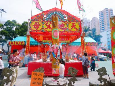 香港★荃灣日記 荃灣潮僑街坊 盂蘭勝會
