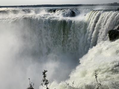 *南米&LA10日間*①3大瀑布の中で1番好きかも?イグアスの滝(アルゼンチン側)