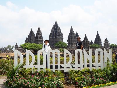 夫婦二人でインドネシア世界遺産の旅 4日目