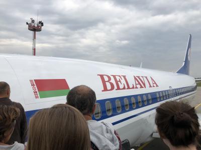 ベラルーシ1日目 ミンスク到着